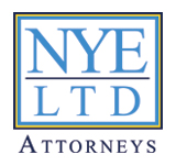 Nye Ltd, Attorneys